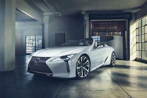 Lexus LC Convertible Concept sẽ được đưa vào sản xuất thương mại ?