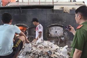 Công ty sử dụng rác thải gây ô nhiễm môi trường