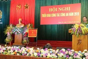 Thứ trưởng Lê Quý Vương dự triển khai công tác năm 2019 của Công an Hưng Yên