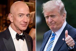 Tổng thống Trump chúc tỷ phú Jeff Bezos ly hôn may mắn
