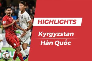 Highlights Asian Cup 2019: Kyrgyzstan 0-1 Hàn Quốc