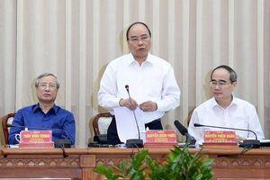 Thủ tướng muốn TP.HCM phát triển sánh ngang Hong Kong, Singapore