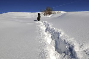 Từ Á - Âu sang Mỹ, thế giới 'đắp chăn' tuyết dày trắng xóa
