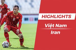 Highlights Asian Cup 2019: Việt Nam 0-2 Iran