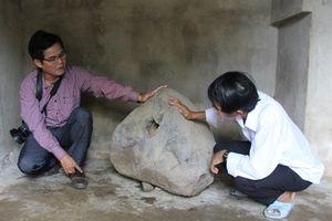 Phát hiện Tù Và bằng đá lạ trên thảo nguyên Bùi Hui