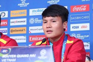 Quang Hải không 'ngán' cầu thủ Iran trình độ, cao to như Tây