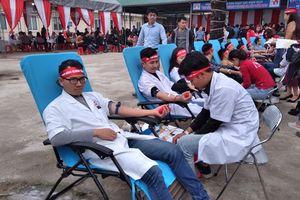 Ngày hội hiến máu ở nhiều địa phương