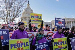Mỹ: Biểu tình phản đối chính phủ đóng cửa