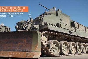 Choáng với xe công binh chống phóng xạ của Quân đội Nga