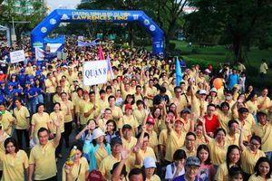 Hơn 15.000 người đi bộ từ thiện, hỗ trợ người nghèo