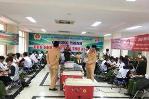 Đoàn Thanh niên Công an TP. Hà Nội 'Thắp lửa tình nguyện'