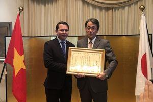 Báo Thế giới & Việt Nam được trao Bằng khen của Đại sứ quán Nhật Bản tại Việt Nam