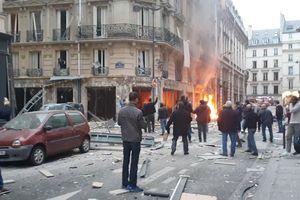 Thương vong trong vụ nổ tại trung tâm Paris tăng cao