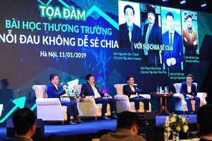 Doanh nhân Việt chia sẻ nỗi đau và bài học thương trường