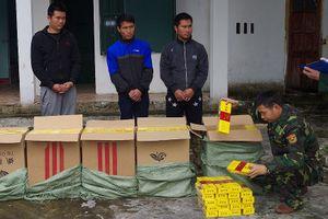Biên phòng liên tiếp bắt hàng lậu trên biên giới