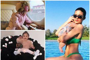 Khám phá cuộc sống sang chảnh hơn 'nữ vương' của con gái Kylie Jenner dù chưa đầy 1 tuổi