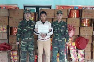 Mật phục tóm gọn nhóm đối tượng vận chuyển 2 tấn pháo từ Trung Quốc nhập lậu vào Việt Nam