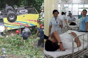 Vụ lật xe khách trên đèo Hải Vân: 7/22 nạn nhân đã xuất viện