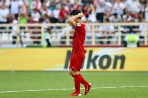 Kết quả Asian cup 2019: Công Phượng, Quang Hải bỏ lỡ cơ hội Việt Nam thua Iran 0-2