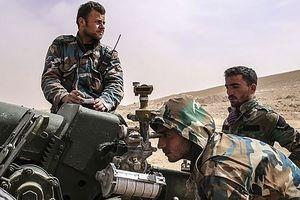 Quân đội Syria phản kích, dùng UAV và pháo phản lực tấn công khủng bố