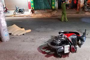 TP HCM: Xe container đâm chết người rồi bỏ trốn