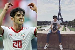 Dân mạng tiếp tục chứng tỏ đẳng cấp 'tìm info' khi khui ra danh tính tiền đạo 'soái ca' giúp Iran ghi 2 bàn thắng