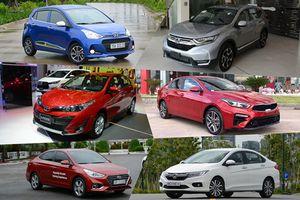10 ô tô bán chạy nhất Việt Nam năm 2018