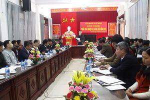 Sở TN&MT tỉnh Yên Bái triển khai nhiệm vụ công tác năm 2019