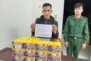 Quảng Trị: Bắt đối tượng vận chuyển pháo lậu từ Lào về Việt Nam tiêu thụ