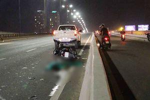 Đi xe máy vào làn ô tô trên cầu Sài Gòn, nam thanh niên tử nạn