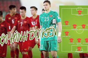 Đội hình dự kiến trận Việt Nam vs Iran: Tin vào Văn Lâm, Công Phượng