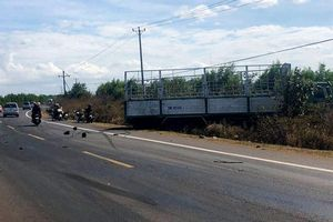 Vụ xe tải gãy trục, mất lái, tông chết 3 chị em: Xe tải sản xuất ở Trung Quốc
