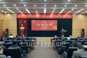 Lãnh đạo Bộ Công Thương gặp mặt cán bộ hưu trí nhân dịp Xuân Kỷ Hợi 2019