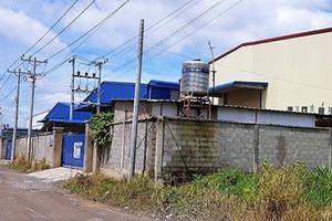 Báo cáo Thủ tướng Chính phủ vụ xây dựng trái phép tại Cụm công nghiệp Phước Tân