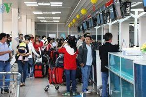 Sẽ hạn chế người đưa tiễn tại ga quốc tế T2 Nội Bài dịp Tết