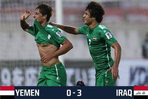 Iraq vào vòng loại trực tiếp sau chiến thắng '3 sao'