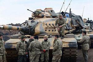 Thổ Nhĩ Kỳ tăng cường quân đội tại biên giới Syria