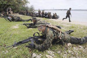 Quân đội Nhật - Mỹ diễn tập nhảy dù bảo vệ các đảo xa