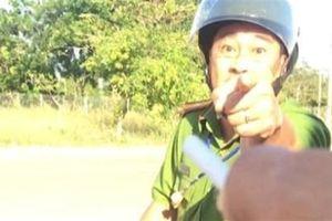 Thiếu tá CA bị tố sỉ nhục tài xế: Kết luận nóng