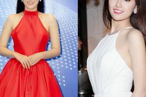 Mai Phương Thúy mặc váy yếm 'lai' truyền thống với hiện đại
