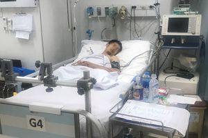 Cứu sống anh công nhân bị tai nạn lao động đứt 2 chân nguy kịch