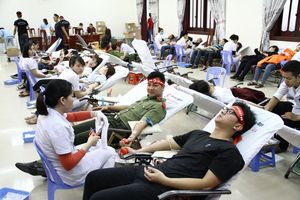 Chỉ có chúng ta mới giúp máu được cho người bệnh