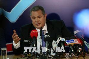 Bộ trưởng Quốc phòng Hy Lạp từ chức