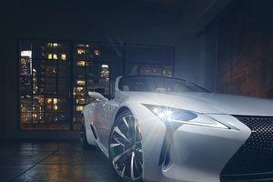 'Nghẹt thở' trước xe mui trần tuyệt đẹp Lexus LC