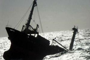 Tàu cá chìm trên biển, hai ngư dân mất tích