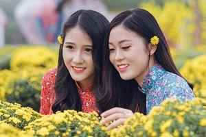 Thiếu nữ Việt khoe hình ảnh 'chỉ nhìn thôi là thấy Tết rồi'