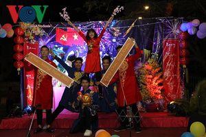 Lưu học sinh Việt Nam tại Campuchia tưng bừng đón Xuân Kỷ Hợi
