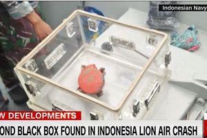 Tìm thấy hộp đen máy bay Lion Air rơi xuống biển