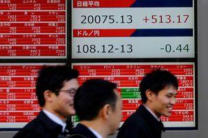 Chứng khoán châu Á 'rơi' đỉnh hơn 1 tháng, thận trọng chờ dữ liệu thương mại Trung Quốc