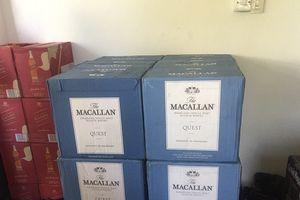 Bắt quả tang xe tải chở 600 chai rượu ngoại không nguồn gốc xuất xứ